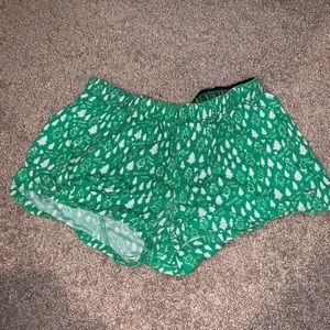 Victoria's Secret holiday shorts